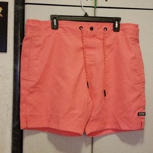 03aee4f0d50b2 Superdry Swim - Superdry Swimming Trunks, Salmon